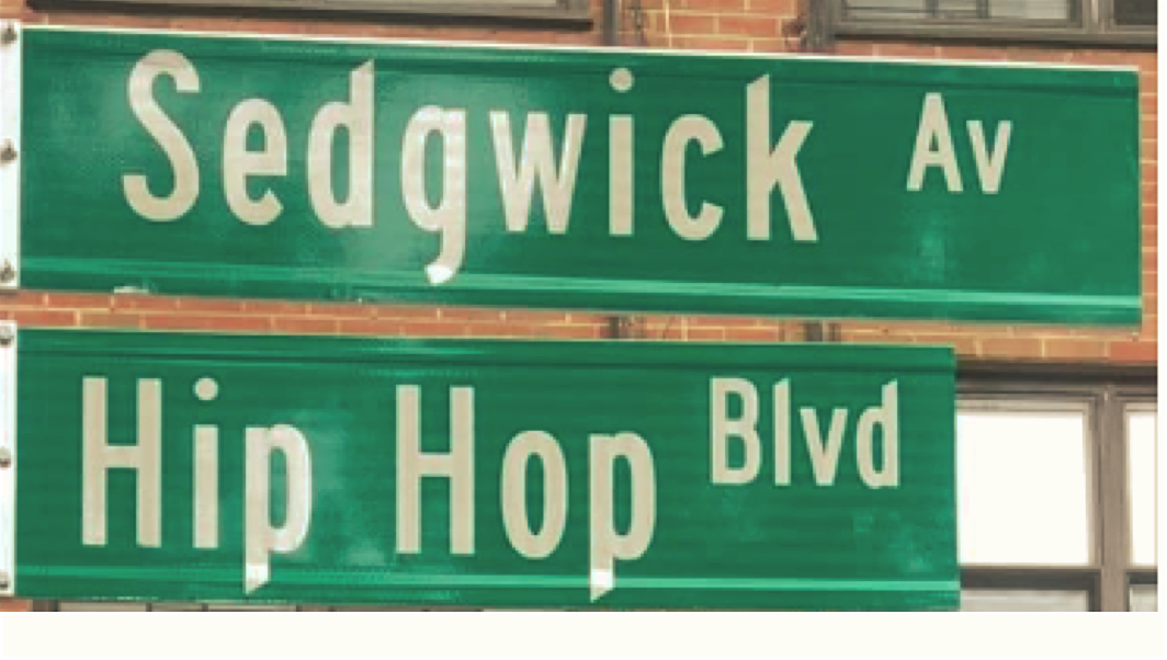 WHO REALLY NAMED THE BIRTHPLACE OF HIP HOP IN THE BRONX?