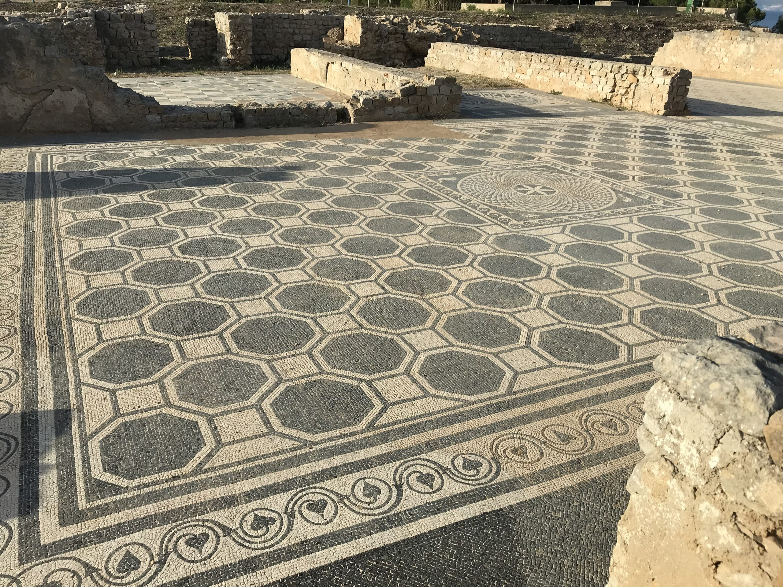 Secrets Beneath the Floor Mosaics of Ancient Empúries Spain